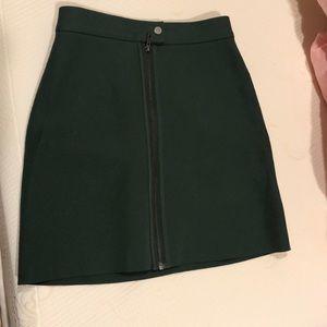 & other stories green miniskirt
